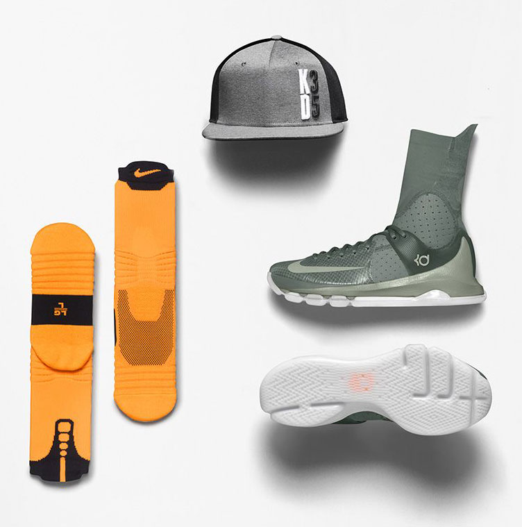 21a323c0c798 Nike KD 8 Elite Neutral Clothing and Gear