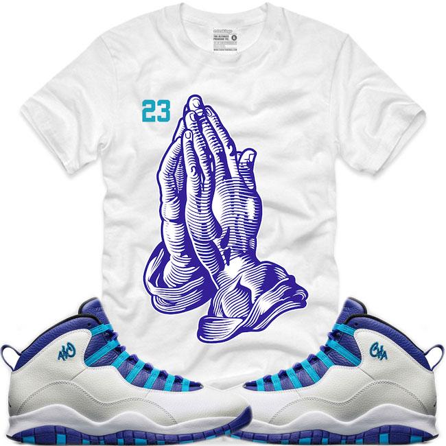 Jordan 10 charlotte sneaker shirts by retro kings for We are jordan unc shirt