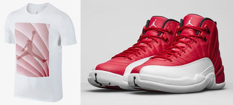 46c05331a527 air-jordan-12-alternate-gym-red-shirt