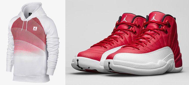 air-jordan-12-gym-red-hoodie