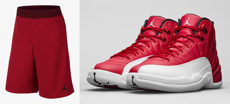 air-jordan-12-gym-red-shorts