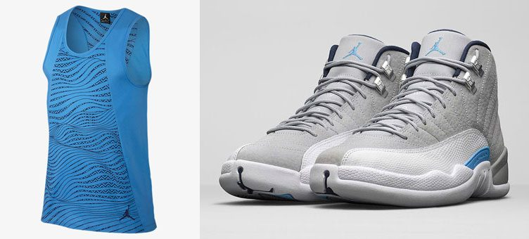 air-jordan-12-unc-grey-blue-tank-top