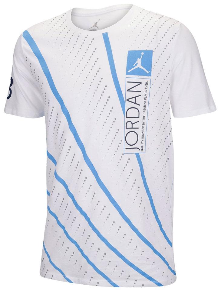 Air jordan 12 unc lines t shirt for We are jordan unc shirt