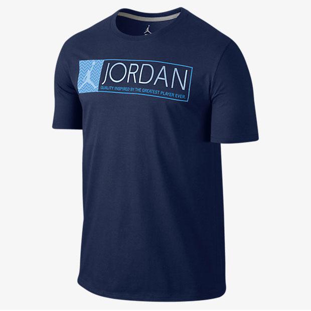 Air jordan 12 grey university blue shirt for We are jordan unc shirt