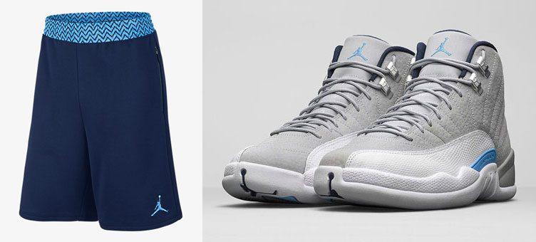 air-jordan-12-unc-university-blue-shorts