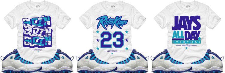 Air Jordan 10 u0026quot;Charlotteu0026quot; Clothing | SneakerFits.com