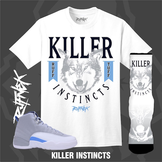 Air Jordan 12 UNC Wolf Grey Outfits by Original RUFNEK | SneakerFits.com