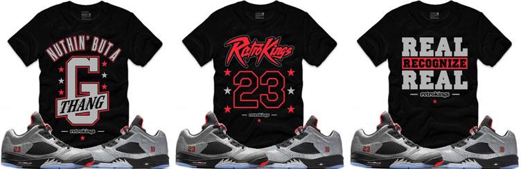 acd563b10ba5bd Air Jordan 5 Neymar Sneaker Tees by Retro Kings