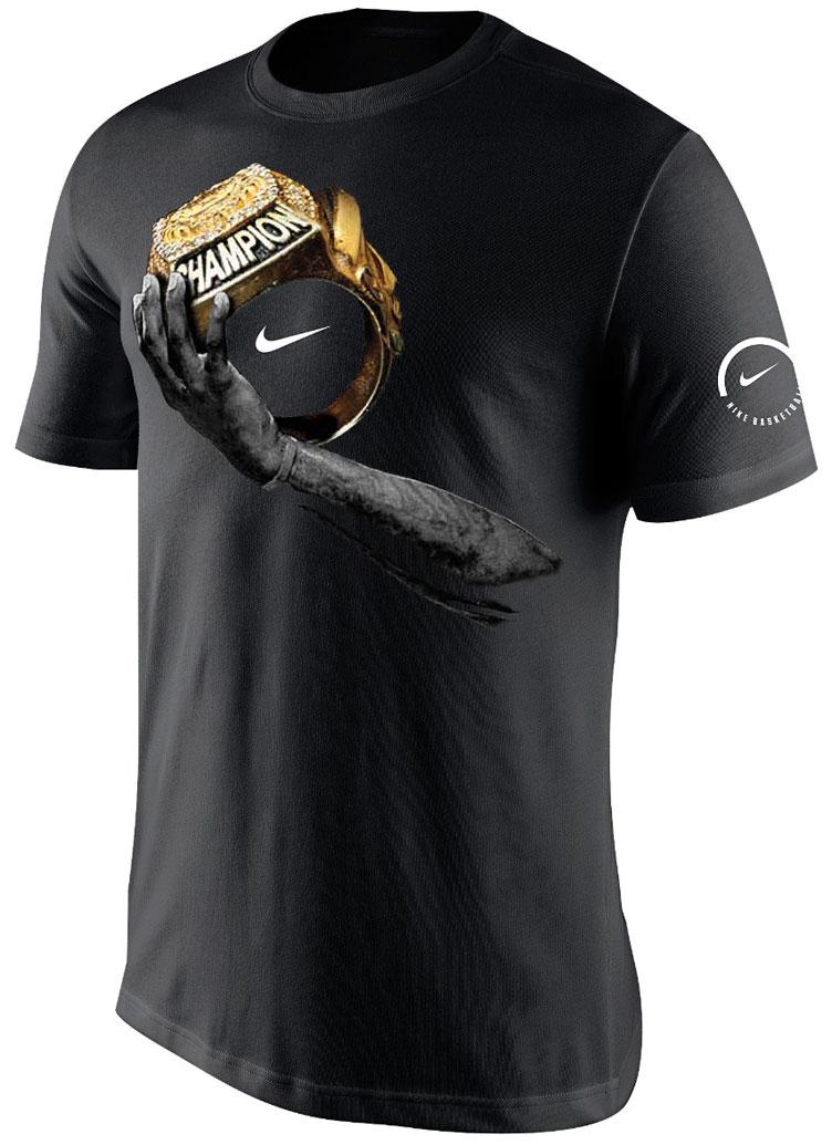 "Nike LeBron Champion T-Shirt x Nike LeBron Soldier 10 ""Championship"" 005dd5deb"