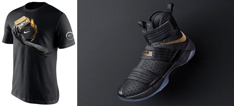 a78a92489bf4 Nike LeBron Soldier 10 Champion Shirt