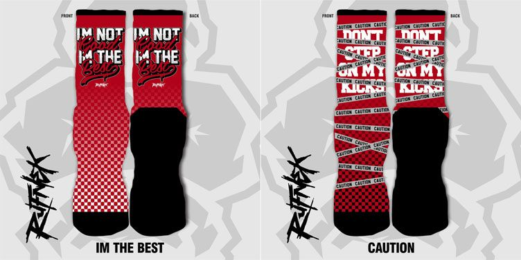 rufnek-sneaker-socks-jordan-11-low-cherry