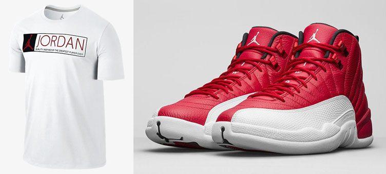 air-jordan-12-gym-red-greatest-shirt