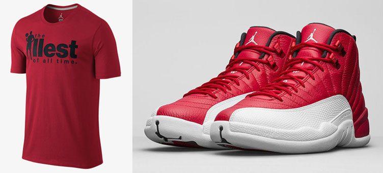 air-jordan-12-gym-red-ill-sneaker-tee