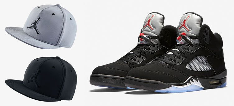 air-jordan-5-black-metallic-hat