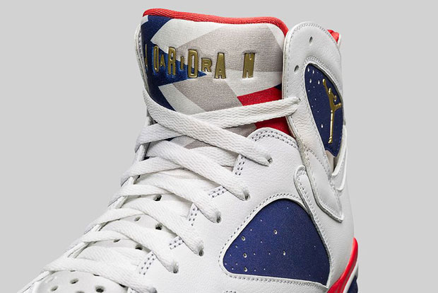 9558c67d259e0a ... Air Jordan 7 Olympic Alternate USA Hoodie