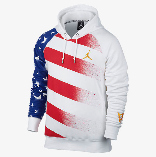 9259aa80394e4c Air Jordan 7 Olympic Hoodies