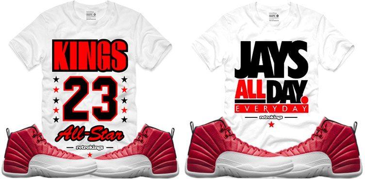 jordan-12-gym-red-retro-kings-shirts