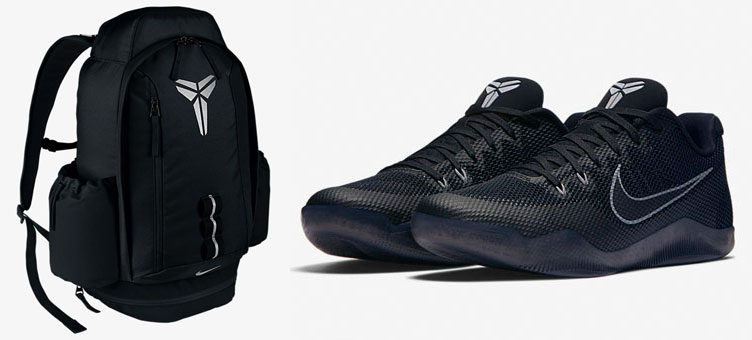 "... Nike Kobe Mamba XI Backpack to Match the Nike Kobe 11 ""Blackout"" ..."