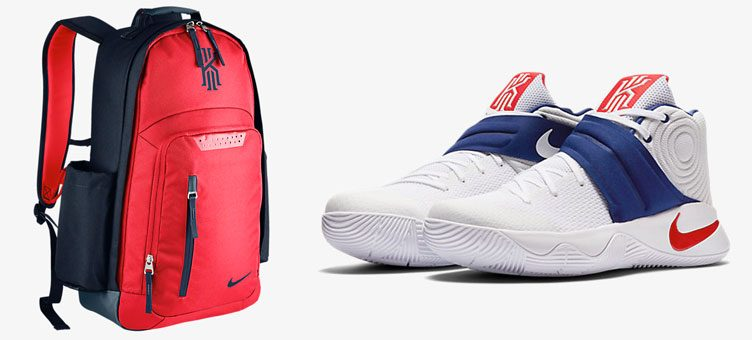 "quality design 48f4c 9df31 Nike Kyrie Backpack to Match the Nike Kyrie 2 ""USA"""