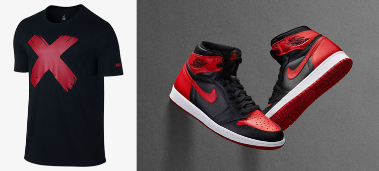 923dfb9f76e Air Jordan 1 Banned X Shirt | SneakerFits.com