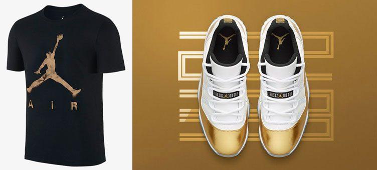 """Air Jordan 11 Low """"Closing Ceremony"""" x Jordan Jumpman Air Dreams T-Shirt"""