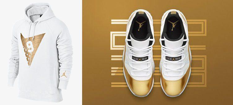 """Air Jordan 11 Low """"Closing Ceremony"""" x Air Jordan Olympic Pullover Hoodie"""