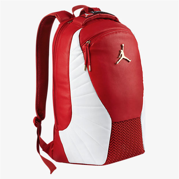 Buy red leather jordan backpack   Up to 43% Discounts