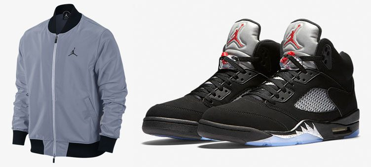 air-jordan-5-black-metallic-jacket