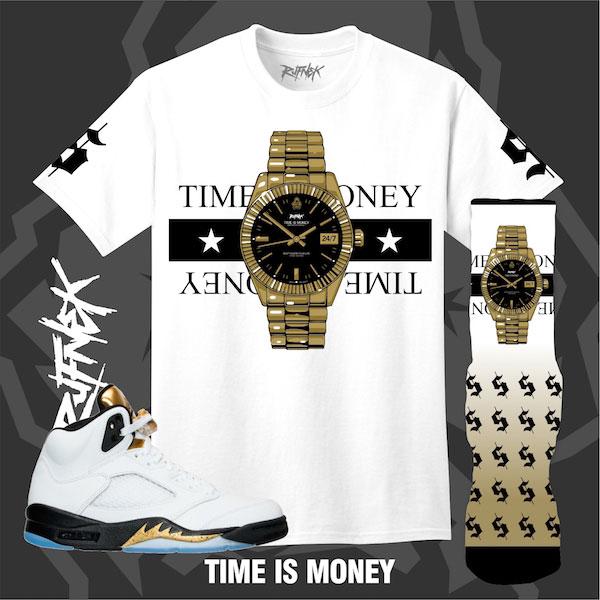 772de1b8d1acac Jordan 5 Gold Olympic Sneaker Outfits by Original RUFNEK