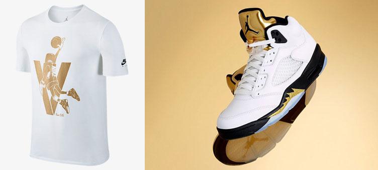 air-jordan-5-white-gold-toggle-shirt