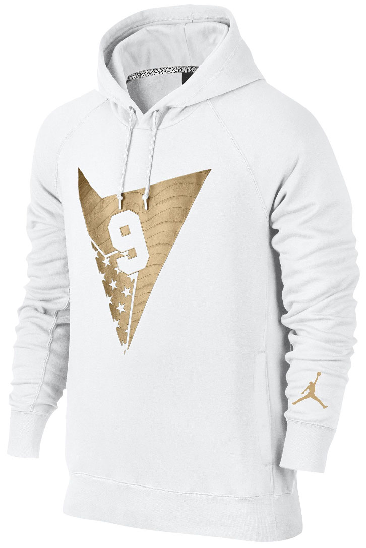 1cad20df2b5a ... air jordan 7 olympic alternate hoodie white gold