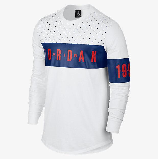 4fe89e509d37 Air Jordan 7 Olympic Alternate Long Sleeve Top