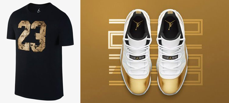 "100% authentic 16ac1 59536 Air Jordan 11 Low ""Closing Ceremony"" x Jordan 23 Dreams T-Shirt"