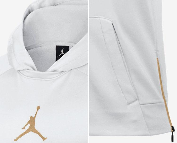 d9a5c8f14bea9c white and gold jordan shirt Sale