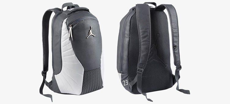 82a41efc6 Air Jordan 12 Wolf Grey Backpack | SneakerFits.com