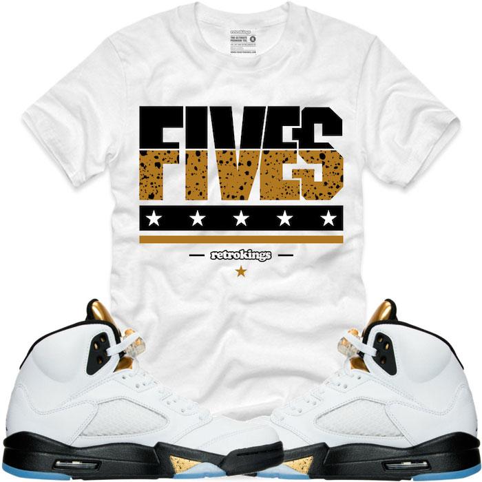 8c1663375019a6 jordan retro 5 shirts Sale