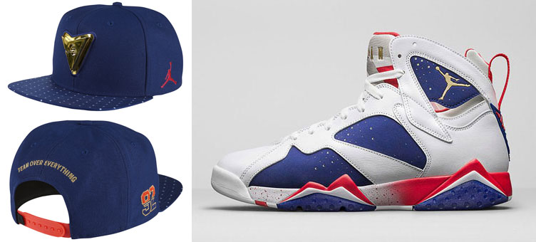 52a9cabaa16000 Air Jordan 7 Olympic Dream Team Hat