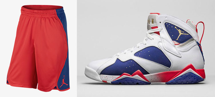 more photos 4aa32 d2e22 Air Jordan 7 Olympic Alternate Shorts | SneakerFits.com