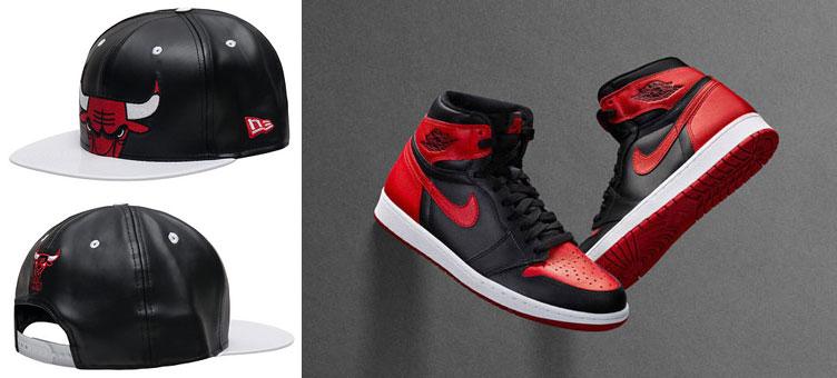f53ba639c Air Jordan 1 Banned New Era Chicago Bulls Cap | SneakerFits.com