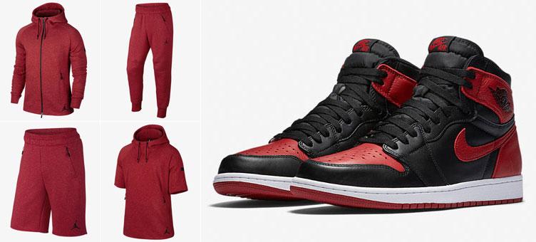Air Jordan 1 Banned Fleece Clothing | SneakerFits.com