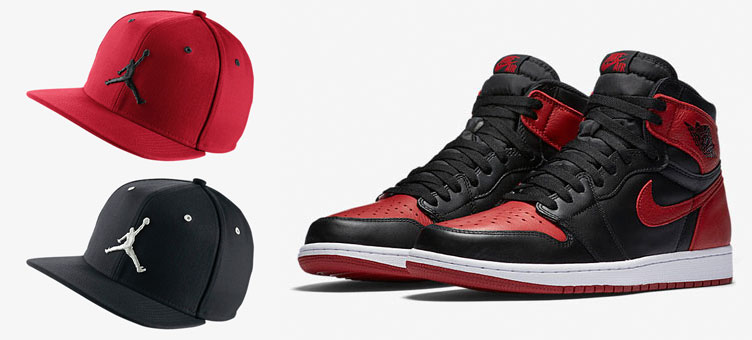 07e367a0456 Air Jordan 1 Banned Jumpman Hat
