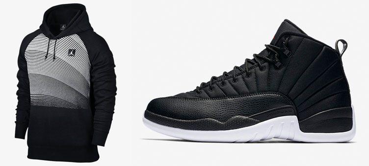 air-jordan-12-black-neoprene-hoodie