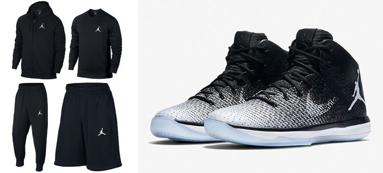 "Jordan Flight Fleece Clothing Collection to Match the Air Jordan 31 ""Fine Print"""