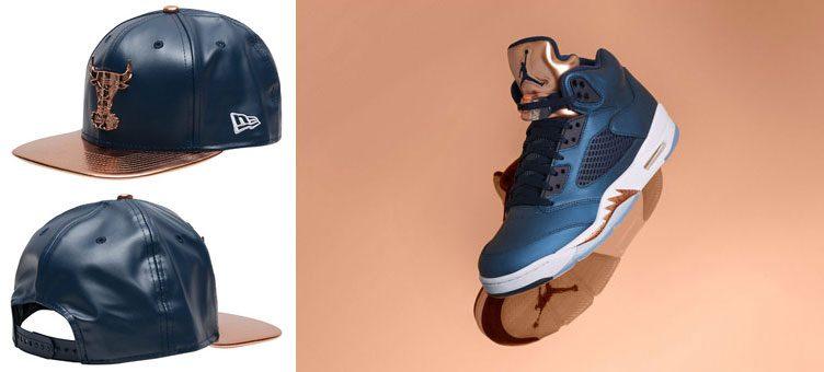 air-jordan-5-bronze-new-era-bulls-hat