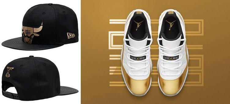 "de459926dadb Air Jordan 11 Low ""Closing Ceremony"" x New Era Chicago Bulls Snapback Cap"