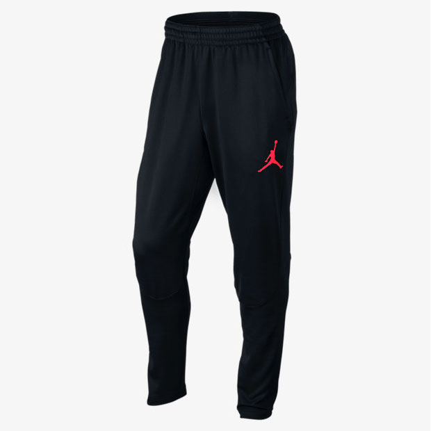 Air Jordan 12 Black Nylon Neoprene Pants Sneakerfits Com