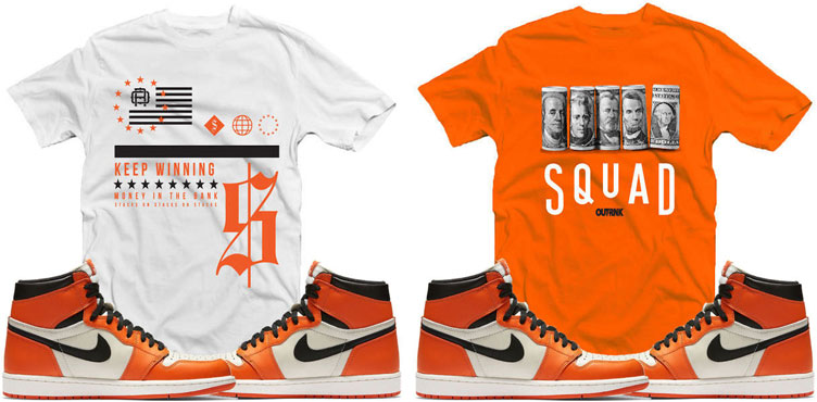 89f9c421fa65 Air Jordan 1 Shattered Backboard Sneaker Tees by OutRank ...