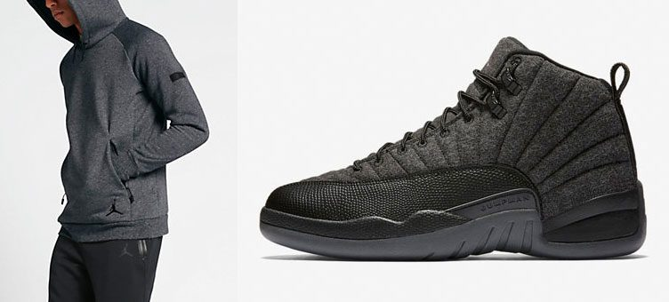 Jordan Icon Fleece Collection to Match the Air Jordan 12 Retro Wool