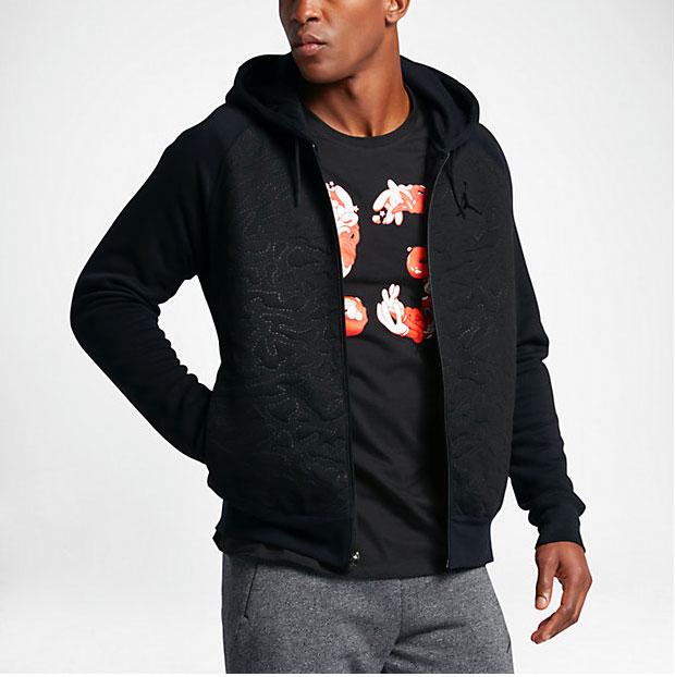 jordan retro 6 full zip hoodie. Black Bedroom Furniture Sets. Home Design Ideas