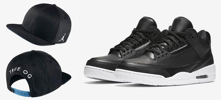 "28f15f4784b4e6 Air Jordan 3 Retro ""Cyber Monday"" x Jordan 3 Retro Snapback Hat"